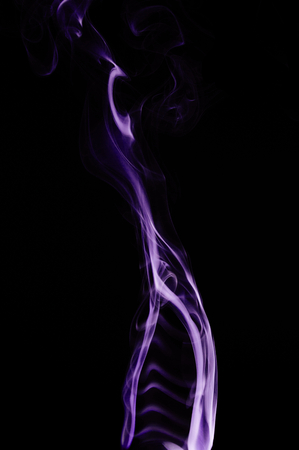 capturing: Wigwam - Capturing the smoke from an incense stick and changing the colours