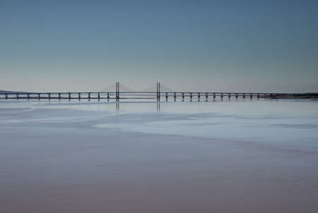 Prince of Wales Bridge, Wales, crossing between Wales and England