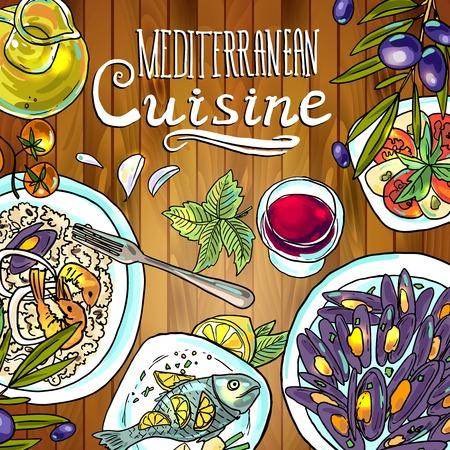mediterranean diet: mediterranean cuisine