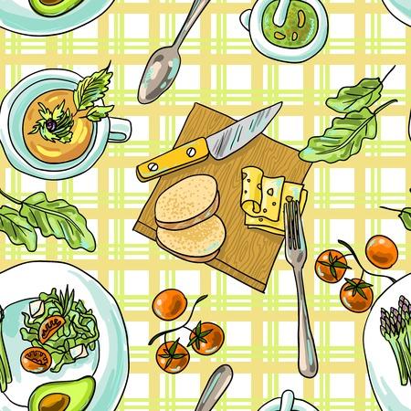 Modelo incons�til de los alimentos vegetarianos