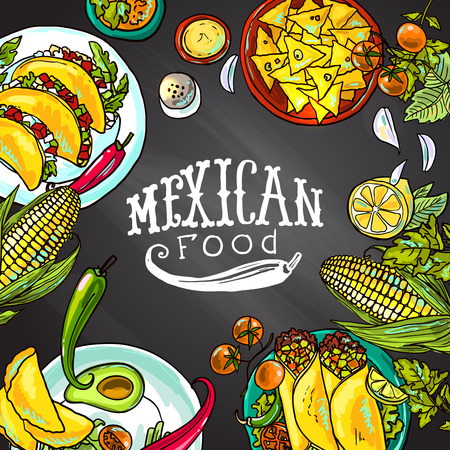 of food: mexican food