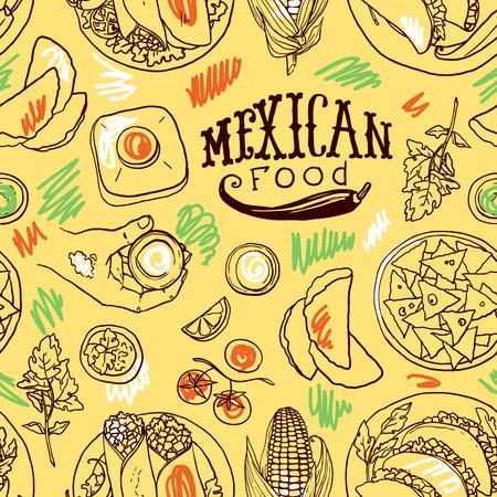 patr�n Simpless comida mexicana