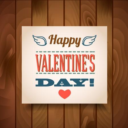 feliz d�a de San Valent�n - tarjetas de felicitaci�n Vectores