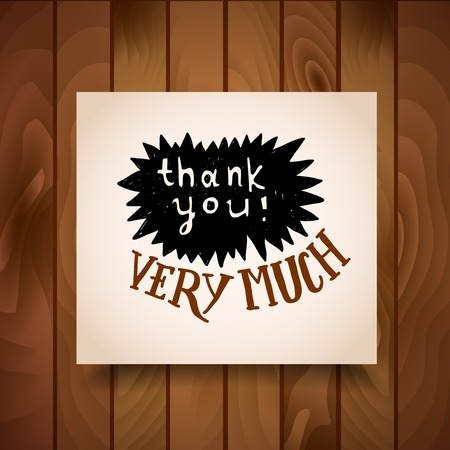 business for the middle: Thank You Card