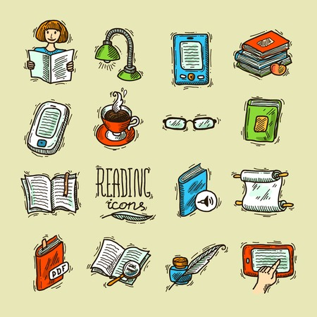 e reader: reading