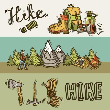 Hiking baners