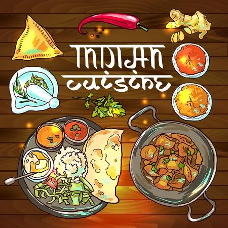 Indisches Essen Standard-Bild - 36201567
