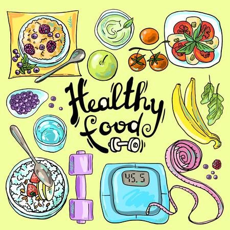 mineral water bottles: healthy food