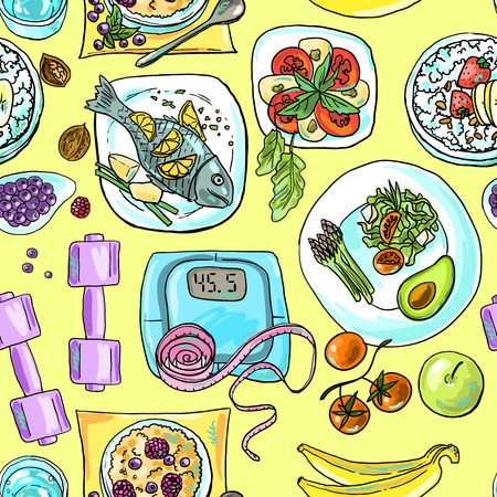 Gesunde Ernährung Standard-Bild - 36377615