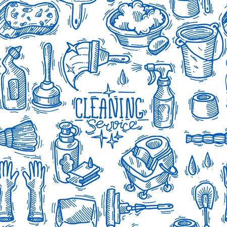 cleaning service Çizim
