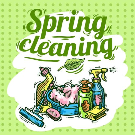 Reinigungsservice Standard-Bild - 36377627