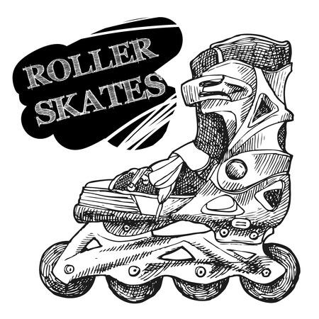 inline skating: Roller-skates
