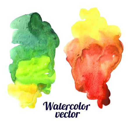 watercolor Vettoriali