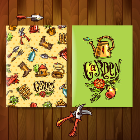 flayers: doodle icons garden