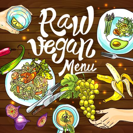 vegan: raw vegan