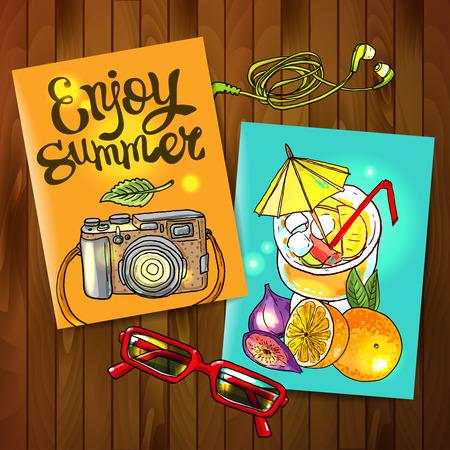 enjoy: enjoy summer