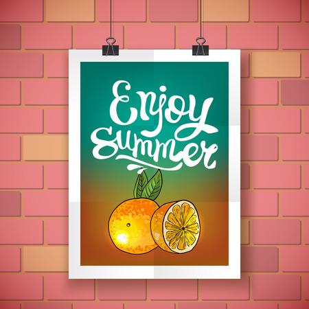 Disfrutar de verano