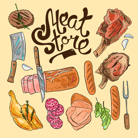 tienda de la carne