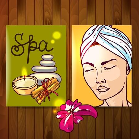 illustration spa for your design Illustration