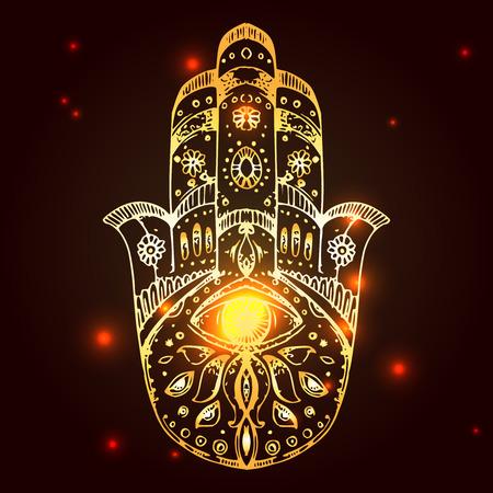 Hamsa, hand of Fatima.