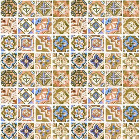 Mediterranes Keramikmuster