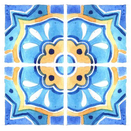 Mediterranean ceramics pattern