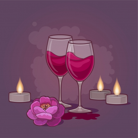 red wine pouring: Wine for Two