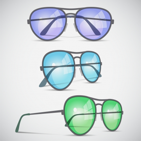 eyewear fashion: Aviator sunglasses