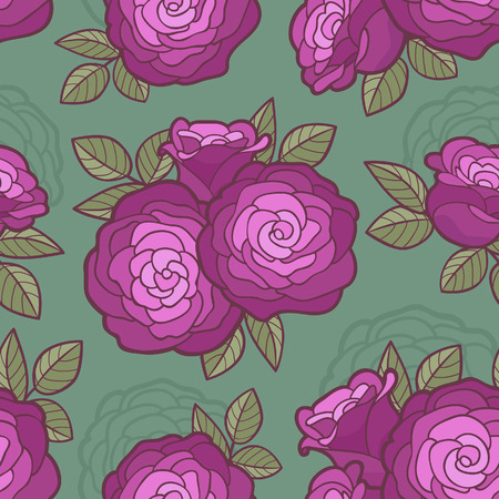 Beautiful seamless floral pattern background