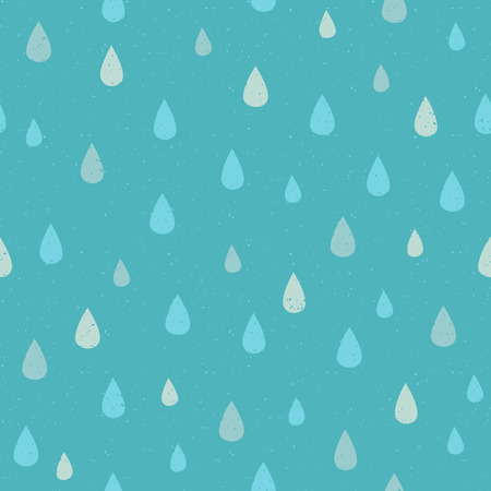 Vector Seamless pattern with water drop dots. Modern abstract background Illustration