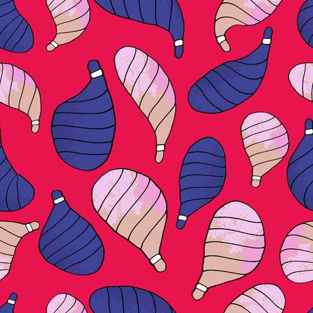 Seamless pattern design, Christmas toys, textile, textile print Banque d'images - 111828548