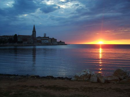 Journey to the sea in Istria, Croatia, in the beautiful coast