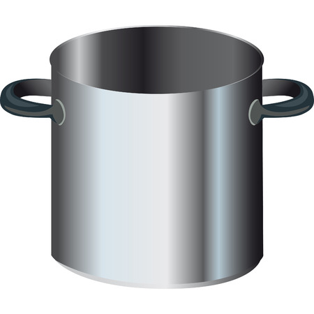 large pot with two handles and steel that is used for cooking