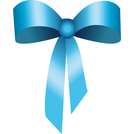 bow ribbon of silk or satin for important celebrations