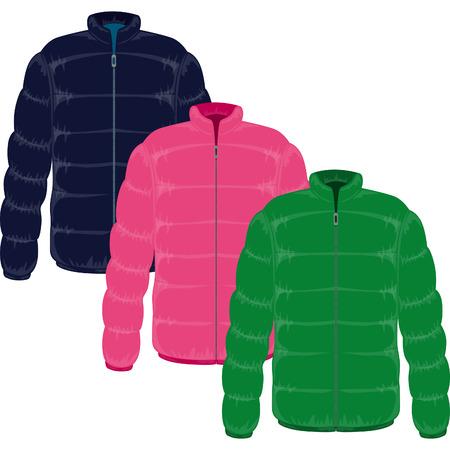 chaqueta de invierno lleno de ganso real hacia abajo