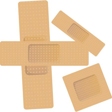 breathable: patch di plastica traspirante per curare e proteggere la ferita