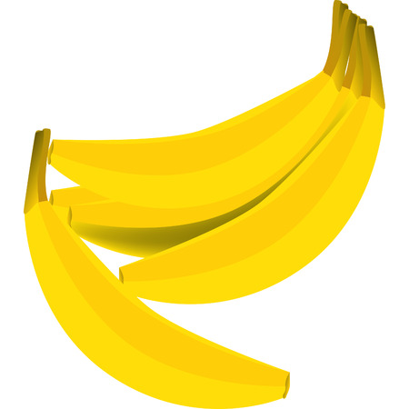 a big yellow banana ready to be eaten