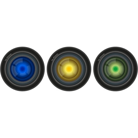 snaps: lens used for the digital camera or film