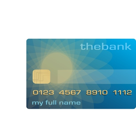 credit or debit card used to pay and buy on the Internet