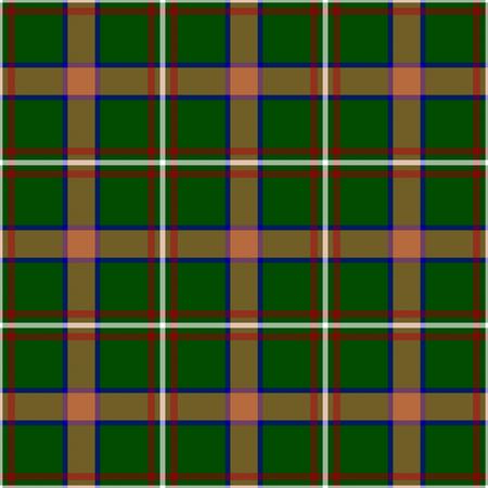 Arizona's Tartan. Seamless pattern for tartan of US state of Arizona for fabric, kilts, skirts, plaids. Frequent, small weaving. Standard-Bild - 121610985