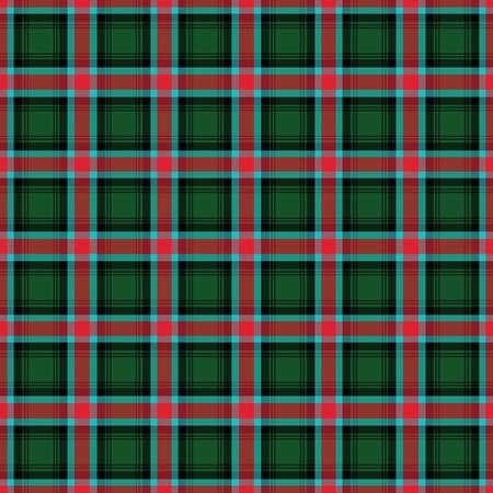 Georgia's Tartan. Seamless pattern for tartan of Georgia for fabric, kilts, skirts, plaids. Frequent, small weaving. Standard-Bild - 121610992