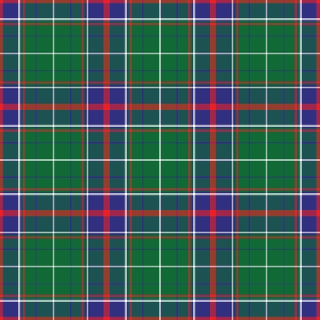 Tennessee's Tartan. Tennessee for fabric, kilts, skirts, plaids. Frequent, small weaving. Standard-Bild - 121611003