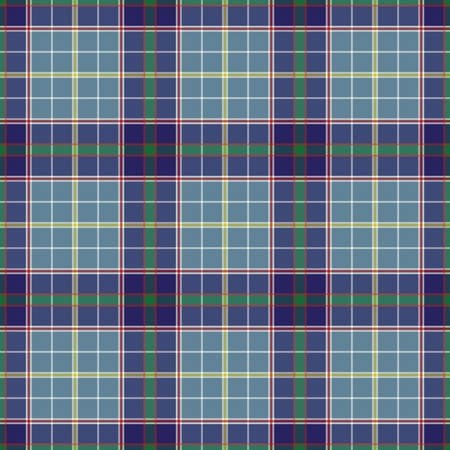 Texas's Tartan. Seamless pattern for tartan of US state of Texas for fabric, kilts, skirts, plaids. Frequent, small weaving. Standard-Bild - 121611004