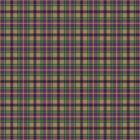 Oregon's Tartan. Seamless pattern for tartan of US state of Oregon for fabric, kilts, skirts, plaids. Frequent, small weaving. Standard-Bild - 121112689