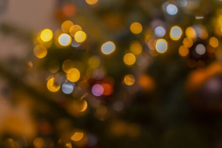colorful blurry points of light suitable as a perfect atmospheric background for festive occasions