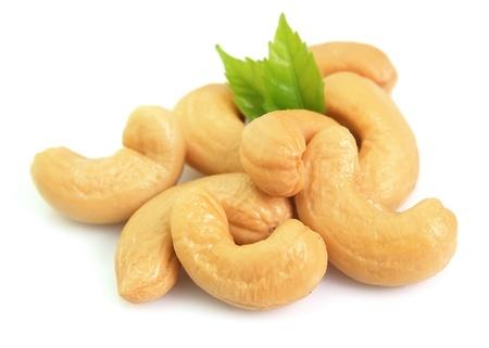 Cashew with life closeup