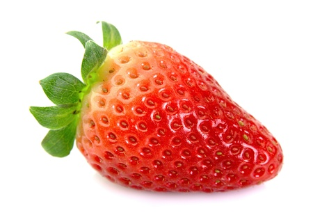 one strawberry close up