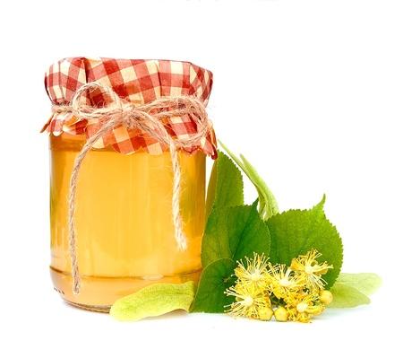 linden flowers: Linden honey with linden flowers