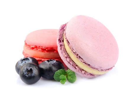 French macaroons  Dessert  Stock Photo - 19550450