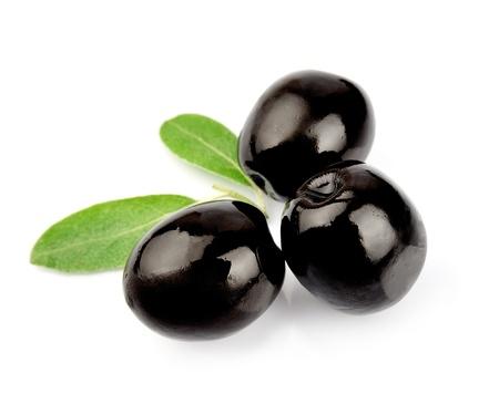 rama de olivo: Aceitunas dulces de cerca